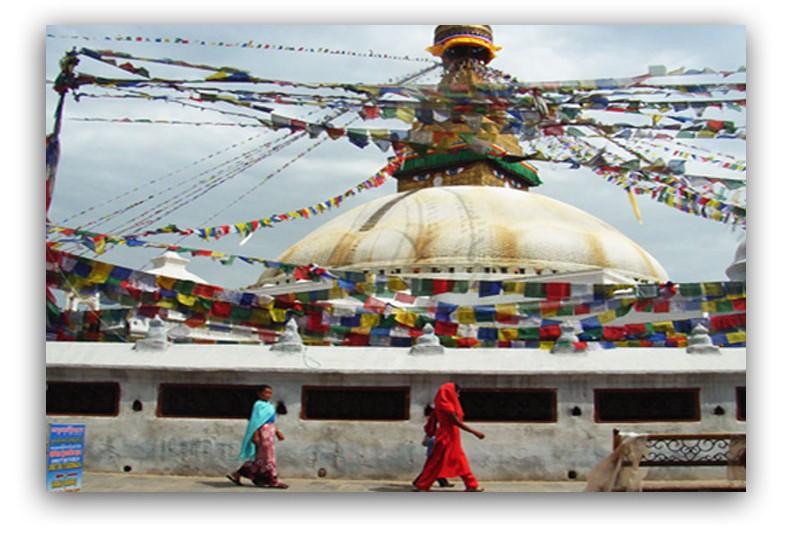 Boudanath Stupa in Kathmandu