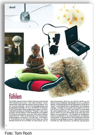Wohnmagazin ELLE Decoration Fühlen