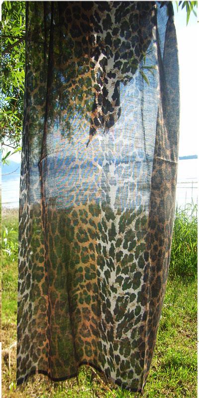 Leopard Schal