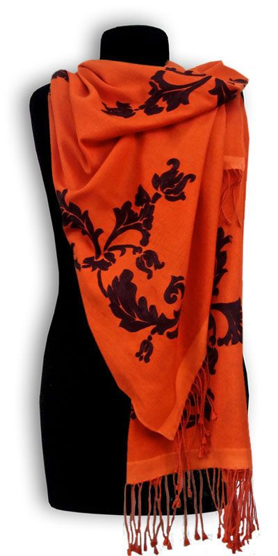 Pashmina Tulla orange