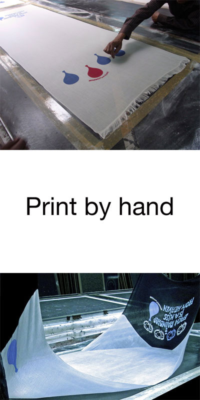 Print by hand