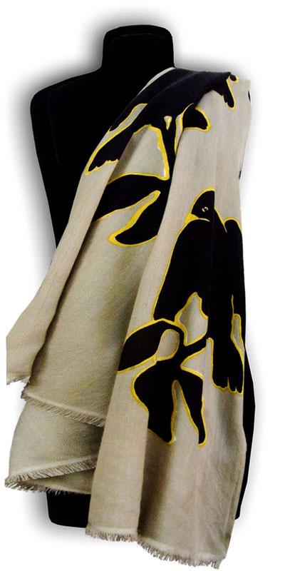 Cashmere shawl Art Nouveau